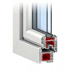 армированный профиль окна
