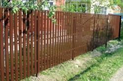 Виды дачной ограды