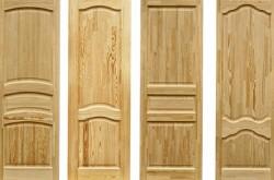 Где можно использовать двери из массива?