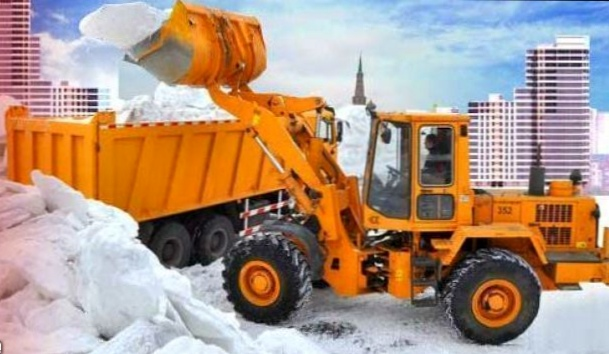 оперативный вывоз снега Москва